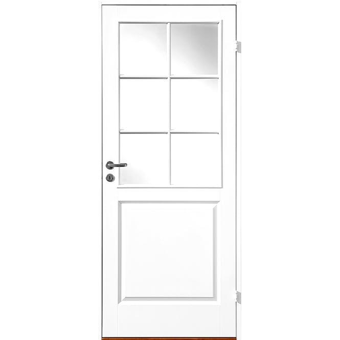 ask_glass kompakt klassisk hvit